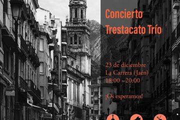 Concierto navideño en Jaén a cargo de Trestacato Trío