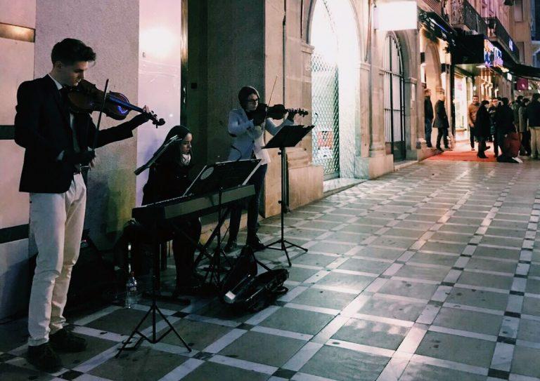 Concierto de música clásica en la Carrera de Jaén