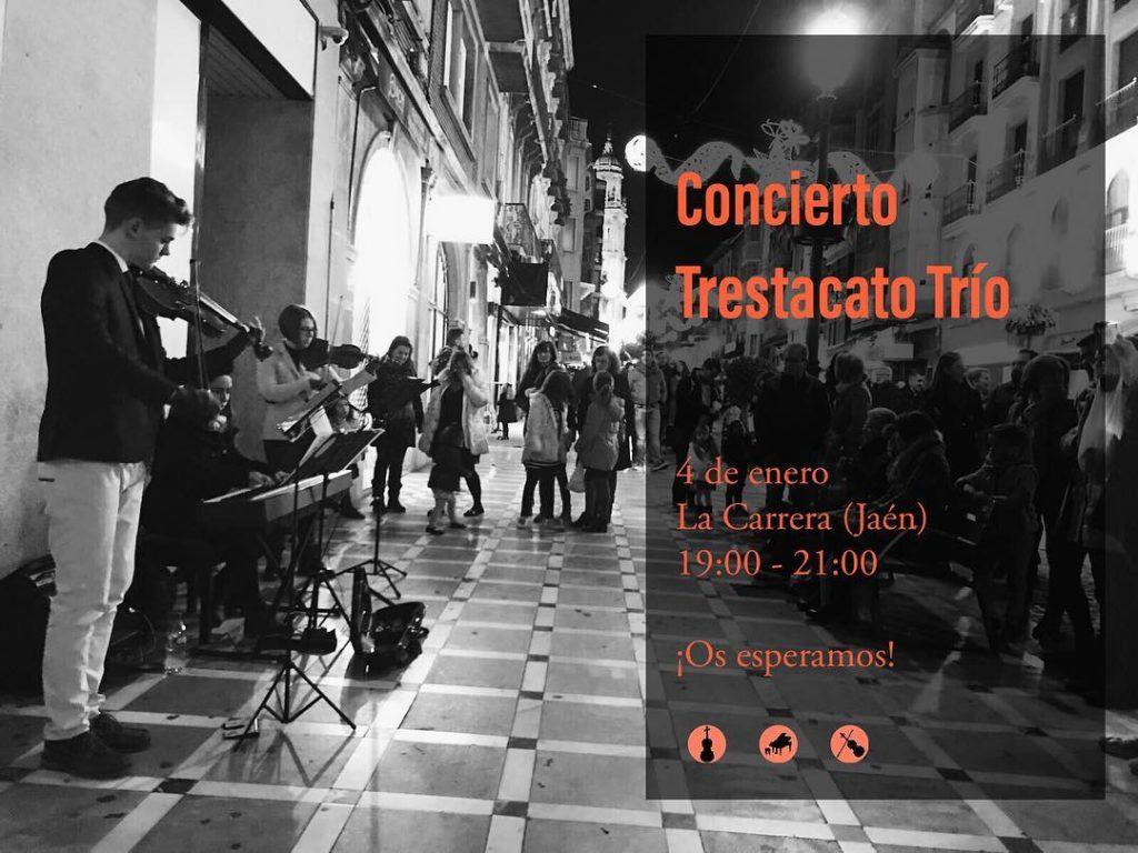 Concierto de música moderna con violines en Jaén y Granada