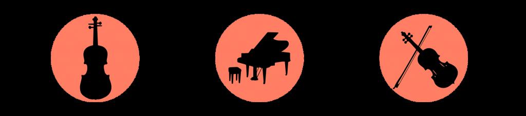 Violín, viola y piano en Jaén